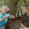 Two of the CCRC's climate change experts exchanging thoughts in one of the CLIM1001 online videos.