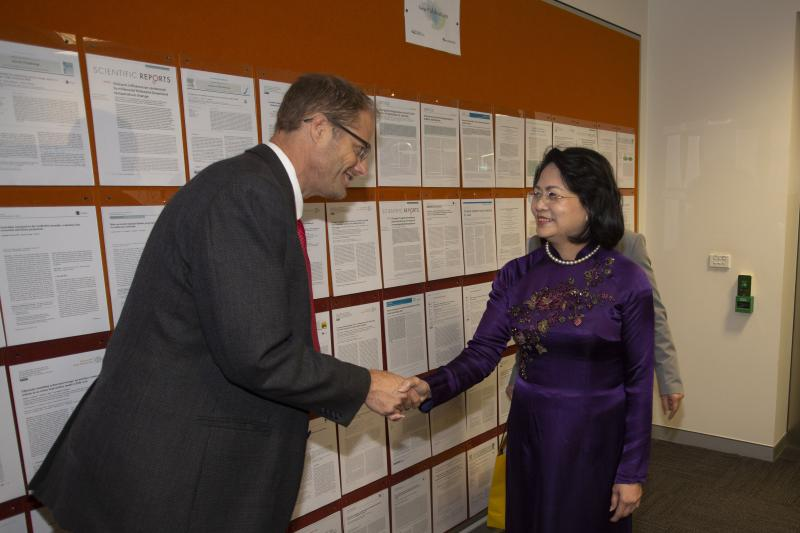 Visit from the Vietnamese Vice President
